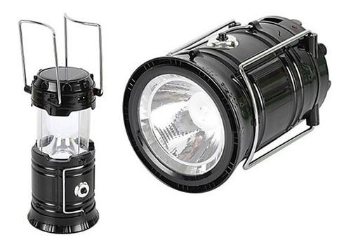 pack 5 lamparas camping solar recargable usb led / n ofertas