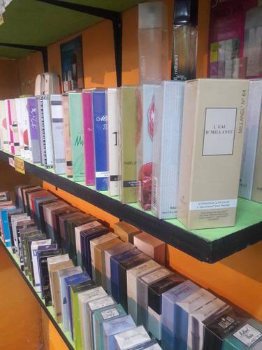 pack 5 perfumes alternativos millanel x100ml + cuotas s/int.