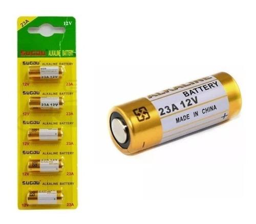 pack 5 pila 23a alcalina 12v control remoto / lhua store
