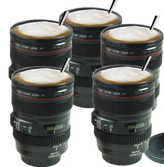 e26e24e311 Pack 5 Tazón Vaso Mug Tipo Lente De Camara/eshopviña - $ 23.990 en ...