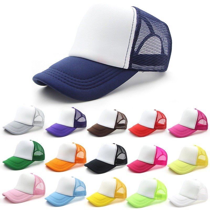 pack 50 gorras para sublimar trucker colores surtidos. Cargando zoom. 0181aa44002