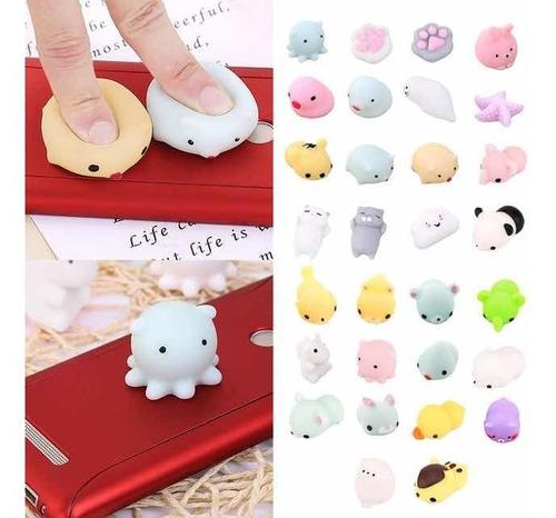 pack 50 mini squishy juguete anti estrés envío gratis