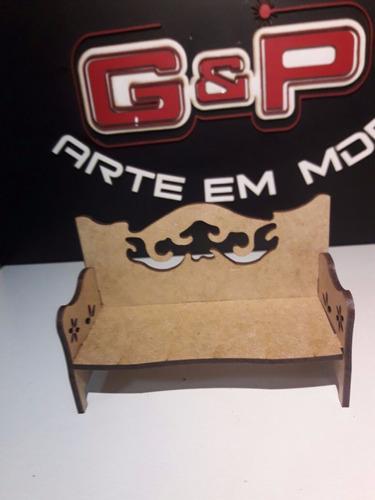 pack 50 miniatura sofa g colonial retro provençal vazado
