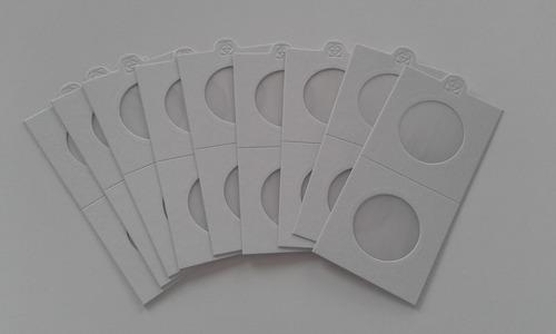 pack 500 cartones adhesivos para monedas (leuchtturm)