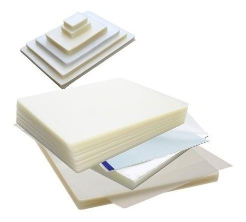 pack 500 micas laminas carnet termolaminadora plastificadora