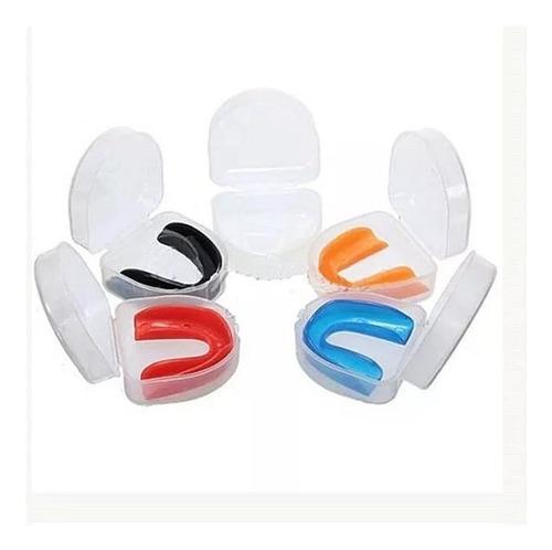 pack 57 unidades protector bucal para deportes de contacto