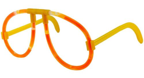 pack 5x: lentes luminoso quimico en bolsa 14.5 cm llamativos