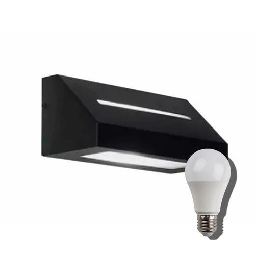 pack 6 aplique pared unidireccional lampara led 9w o 10w fri