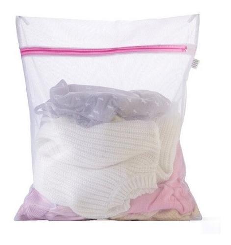 pack 6 bolsa lavar ropa delicada malla compacta lavandería