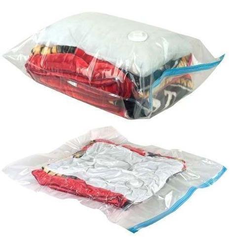 pack 6 bolsas al vacio o space bags reduce el espacio