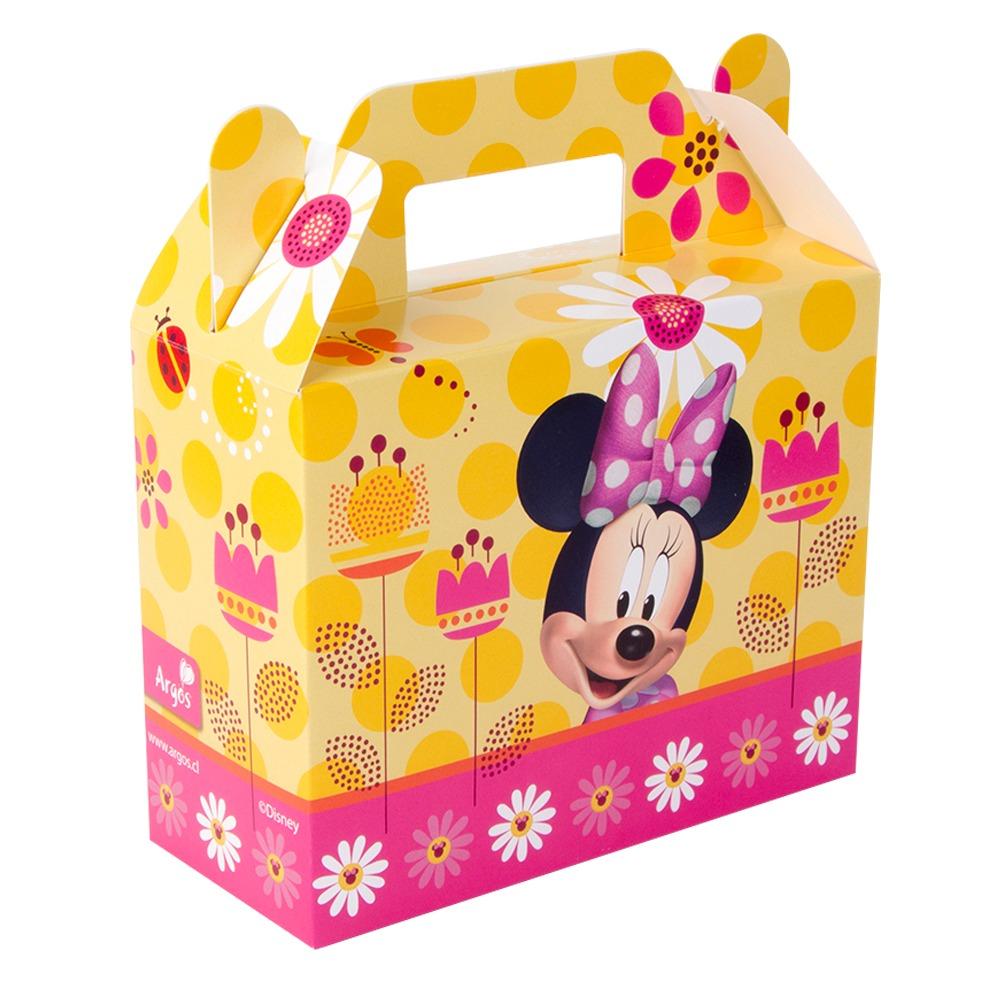 Pack 6 Cajas De Sorpresa Minnie Mouse Cumpleanos Cotillon