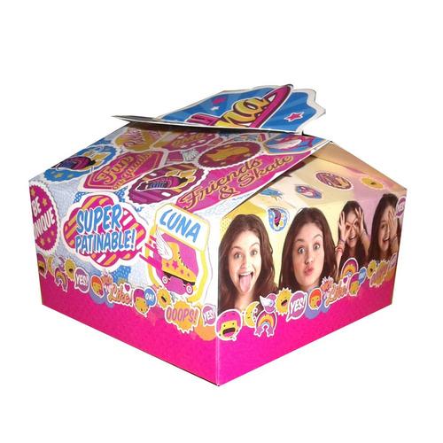 pack 6 cajas sorpresa soy luna original fiestaclub