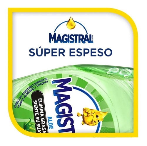 pack 6 lavaloza concentrado magistral aloe 500 ml
