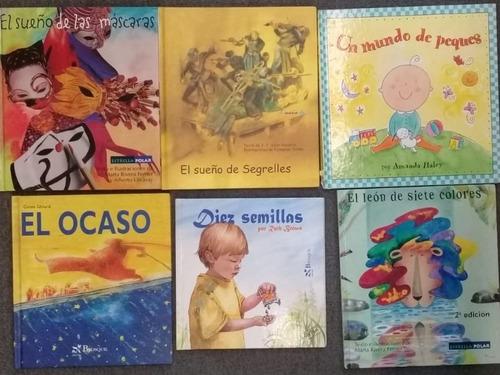 pack 6 libros infantiles de tapa dura a elección
