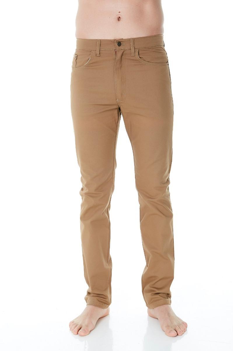 d9d3f416515e3 Pack 6 Pantalones Gabardina Camel Hombre 38 Al 48 Rogers -   3.069 ...