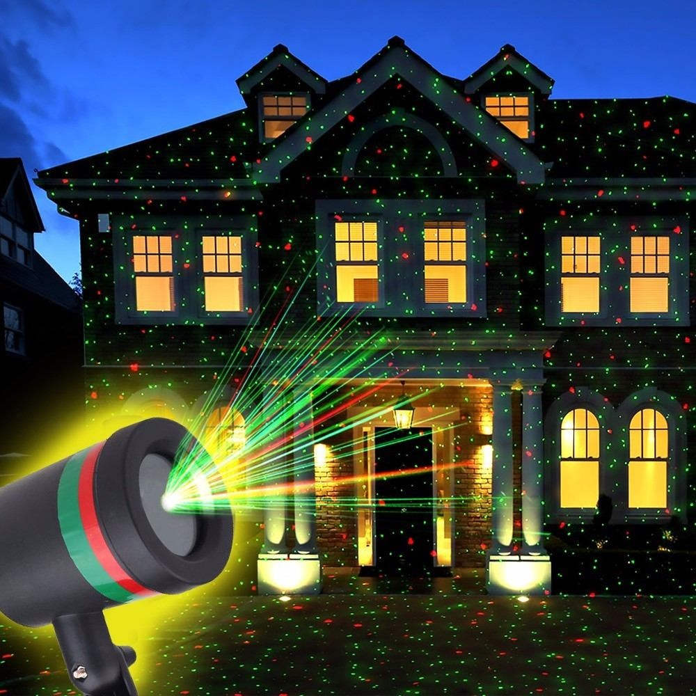 a13f39b6b9f Pack 6 Proyectores Luces Led Movimiento Navidad Laser -   65.000 en ...