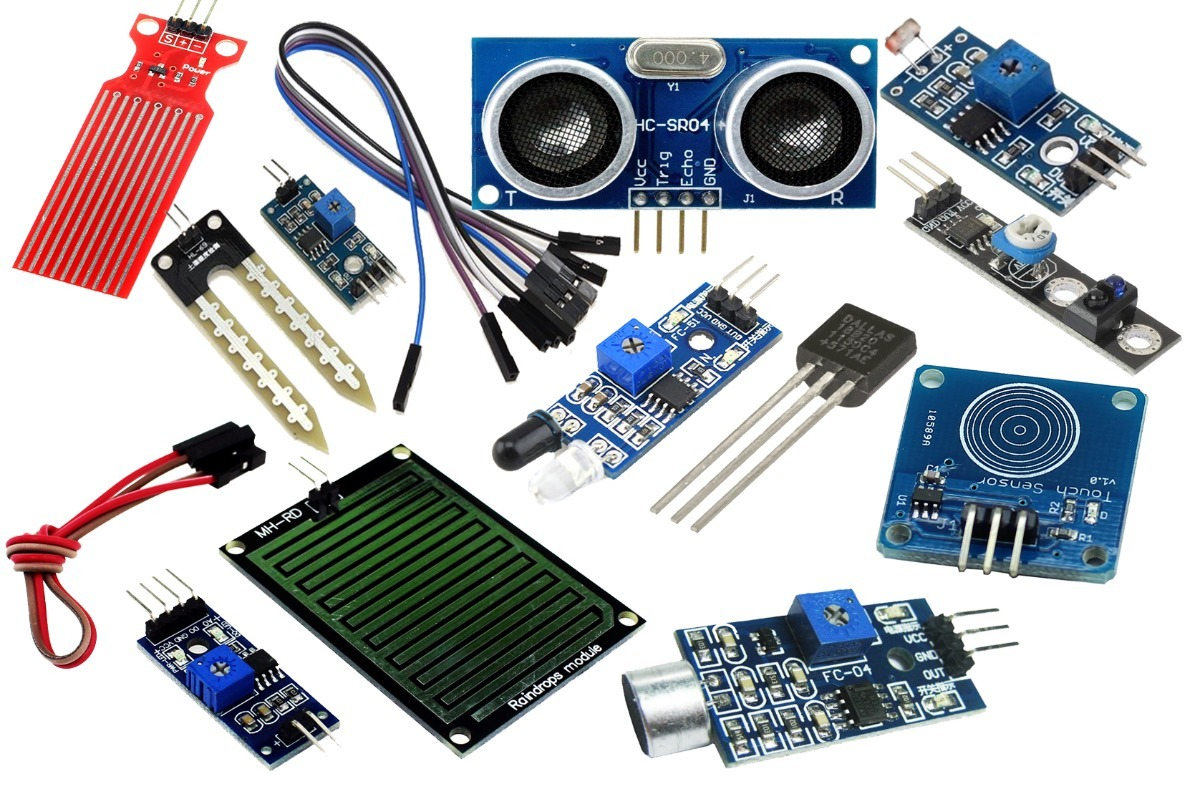 Pack 6 Sensores Modulos Arduino Raspberry Tu Los Eliges