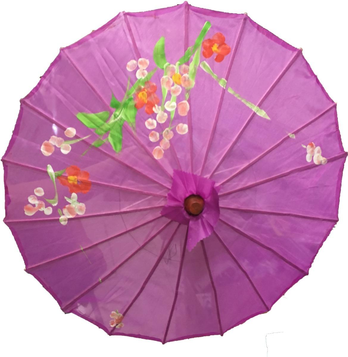 Pack 6 sombrillas chinas para adulto en mercado for Tela para sombrillas