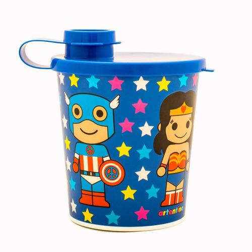 pack 6 vaso tapa infantil regalo nena nene escolar oferta