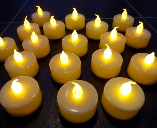 pack 6 velas electrónicas led / ekipofertas