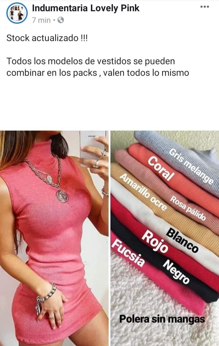 773d3363b461 Pack 6 Vestidos Basicos Algodon Morley Mayorista Fabricante