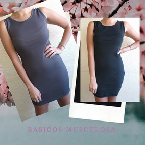 bb675b6e4a59 Pack 6 Vestidos Basicos Musculosa Mayorista Fabricante