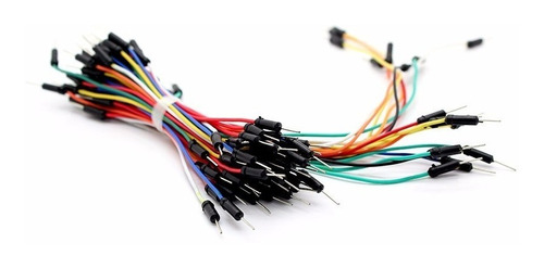 pack 65 cables protoboard macho macho arduino 24/20/16/12 cm