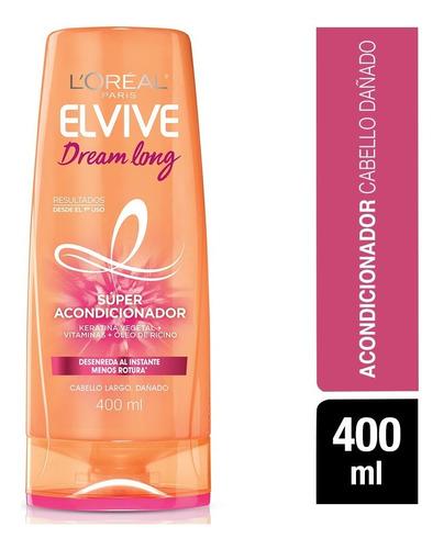 pack 6x acondicionador elvive dream long 5 l'oréal paris