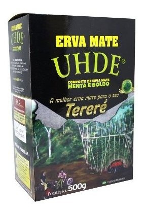 pack 8 ervas mate uhde terere (ant. kurupi) sabores
