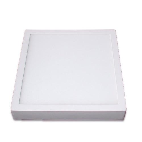 pack 8 panel led 18w exterior cuadrado blanco frio clase a