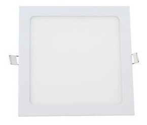 pack 8 panel spot led 18w cuadrado embutir cuotas s/interes