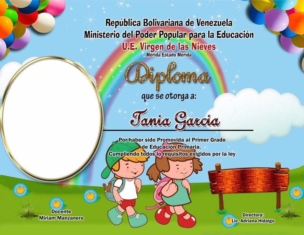 pack 80 diplomas preescolar  sexto grado  bachilleres