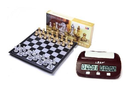 f76195c8ab8e Pack Ajedrez Mas Reloj Digital Ajedrez - Envío Gratis -   36.000 en ...