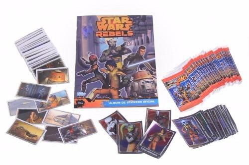 pack álbum star wars rebels