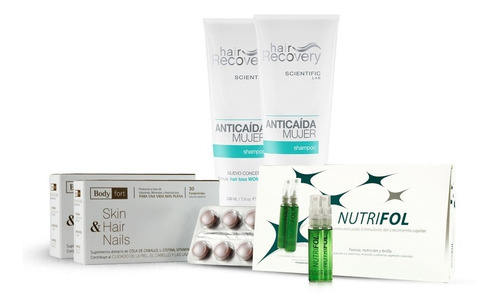 pack anticaída mujer (2 meses) hair recovery