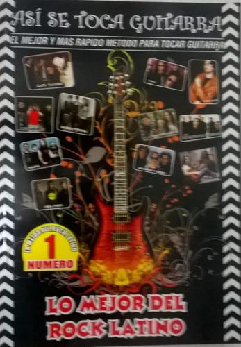 pack asi se toca guitarra con metodo y canciones mas manual