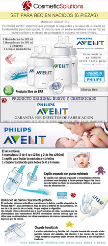 pack baby - calienta mamaderas electrico + set de mamaderas