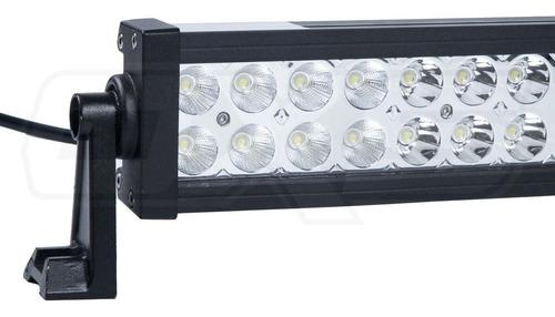 pack barra led 180w + kit ramal cables instalacion jeep 4x4