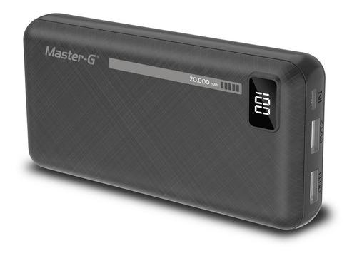 pack batería externa power bank 20000 mah master g  (2 unida