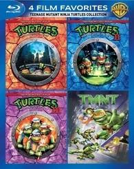 pack bluray tortugas ninjas - las 4 primeras películas