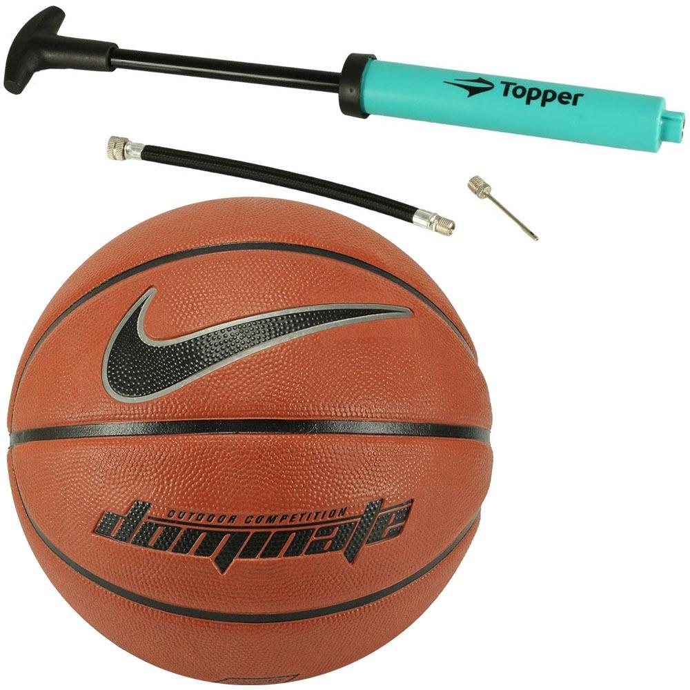 1bf95e040d220 pack bola basquete nike e bomba ar topper special original. Carregando zoom.