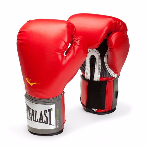 pack box - everlast - vendas algodón negro + protect+guante