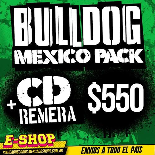 pack bulldog mexico  cd  no te des por vencido ni aun vencid