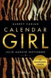 pack calendar girl los 4 tomos / audrey carlan (envíos)