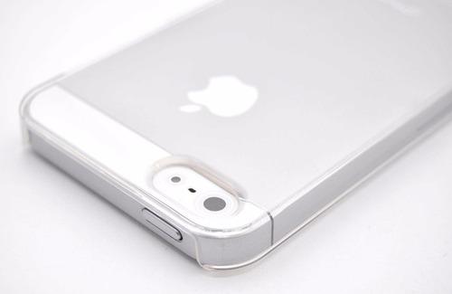 pack carcasa rígida iphone 5 5s 5c se + templado
