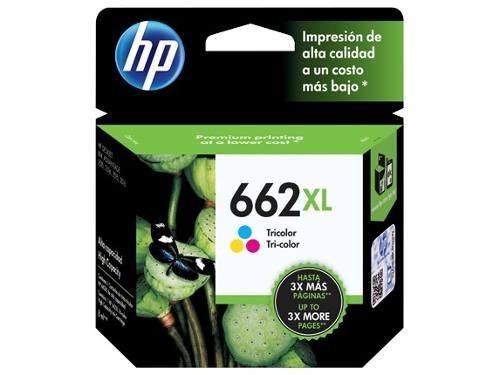 pack cartucho hp 662xl negro cz105al tricolor cz106al  combo