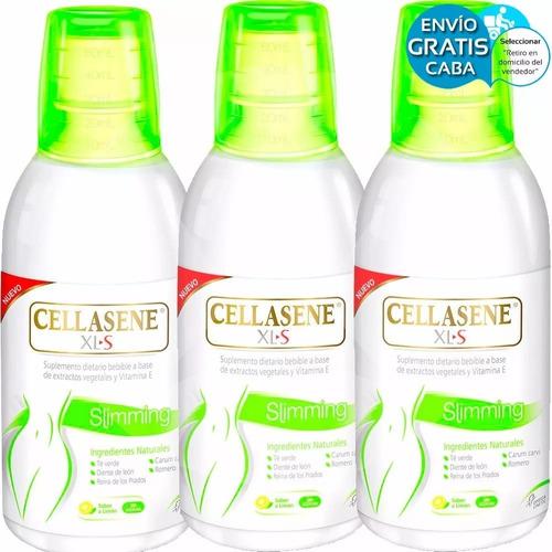 pack cellasene xls slimming bebible adelgazante vto 31/1/19