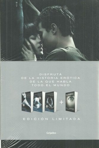 pack cincuenta sombras + grey 1 - e.l. james