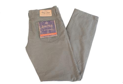 pack clasico / jean clásico de hombre pulse pack x 3