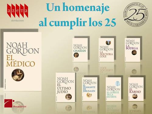 pack colección libros de noah gordon digital 8x1